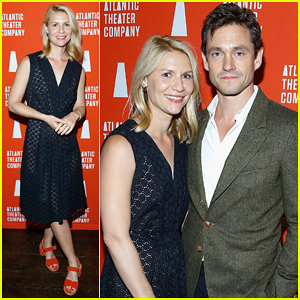 Claire Danes & Hubby Hugh Dancy Help Welcome The UK's Derren Brown To New York!