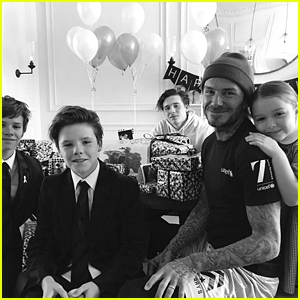 David Beckham Celebrates His Birthday with His Family!