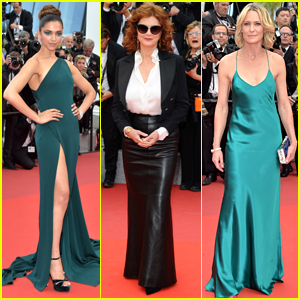 Deepika Padukone, Susan Sarandon, & Robin Wright Go Glam for Day Two of Cannes Film Festival