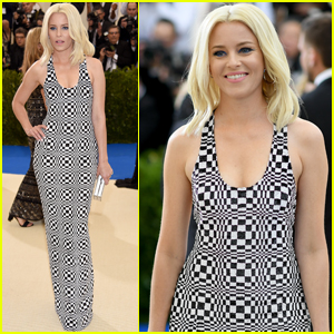 Elizabeth Banks Gets Geometric at Met Gala 2017