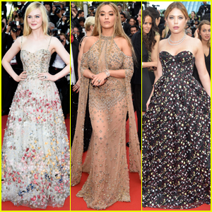 Elle Fanning, Rita Ora & Ashley Benson Get Glam For Cannes 2017