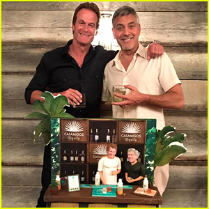 George Clooney & Rande Gerber Celebrate Their Birthdays with Epic Cake from Amal!