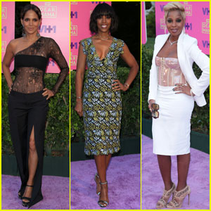 Halle Berry Flaunts Killer Figure in Sheer Lace Bodysuit