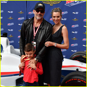 Hilarie Burton & Jeffrey Dean Morgan Make Rare Appearance With Son Augustus!