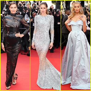 Irina Shayk, Doutzen Kroes & Elsa Hosk Stun At 'The Beguiled' Cannes Premiere!