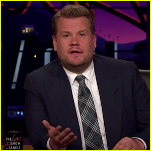 James Corden Talks About Manchester Attack, Chokes Up During Emotional Message (Video)