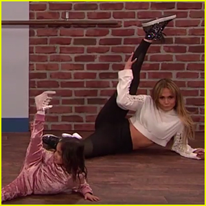 Jennifer Lopez is Taught How to Dance by Toddlers - Watch!