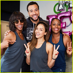 Jessica Alba Hosts Birthday Cycle Charity Ride For Baby2Baby!