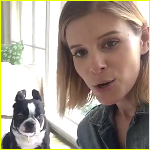 Kate Mara Celebrates Be Kind to Animals Week!