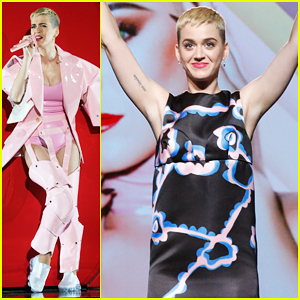 Katy Perry Films Live Concert Special For YouTube!
