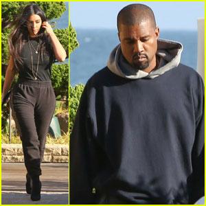 Kim Kardashian & Kanye West Celebrate Anniversary at Nobu