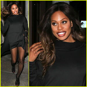 Laverne Cox Is Looking Amazing for Her Night Out!