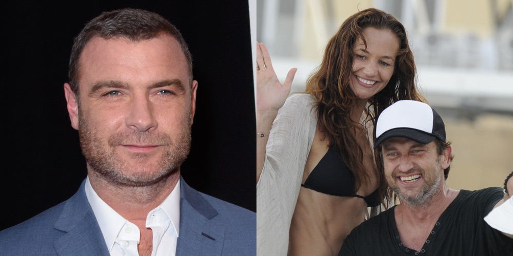 Liev Schreiber Goes On a Date with Morgan Brown, Gerard ...