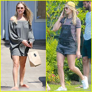 Margot Robbie Shows Off Her Style During Helicopter Tour of Hawaii
