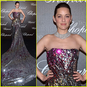 Marion Cotillard Dazzles in Dreamy Dress at Cannes Film Festival 2017