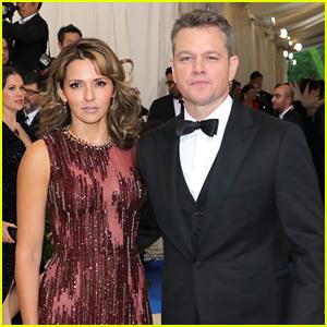 Matt Damon & Wife Luciana Enjoy Date Night at Met Gala 2017