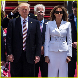 Melania Trump Swats Away the President's Hand in Israel (Video)