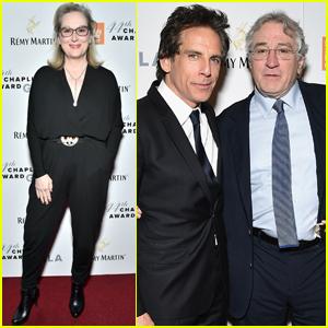 Robert De Niro Calls For Arts Program Funding at Chaplin Award Gala