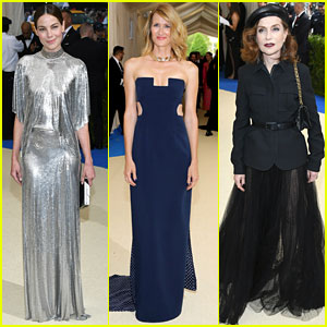 Michelle Monaghan, Laura Dern, & Isabelle Huppert Glam Up for Met Gala 2017