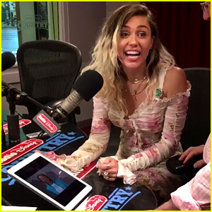 Miley Cyrus Relives 'Hannah Montana' Audition Over a Decade Later (Video)