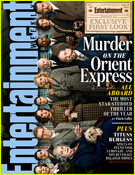 Murder on the Orient Express' All Star Cast Covers 'EW'!