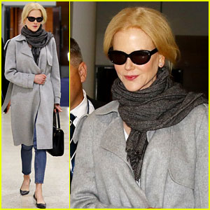 Nicole Kidman Flies to Australia, Likely for 'Aquaman' Filming!