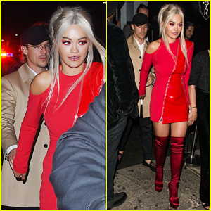 Rita Ora Holds Hands With Diplo At Met Gala After Party 2017!
