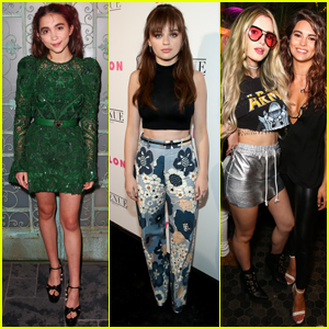 Rowan Blanchard, Bella Thorne & Joey King Get Stylish at Nylon Young Hollywood Party
