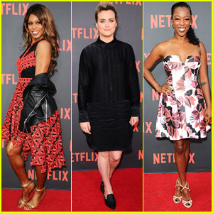 taylor schilling oitnb cast brighten up the red carpet at netflix launch in berlin kate. Black Bedroom Furniture Sets. Home Design Ideas