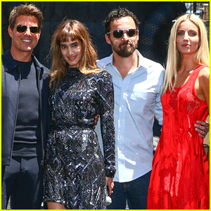 Tom Cruise & 'The Mummy Cast' Celebrate Mummy Day in Hollywood!