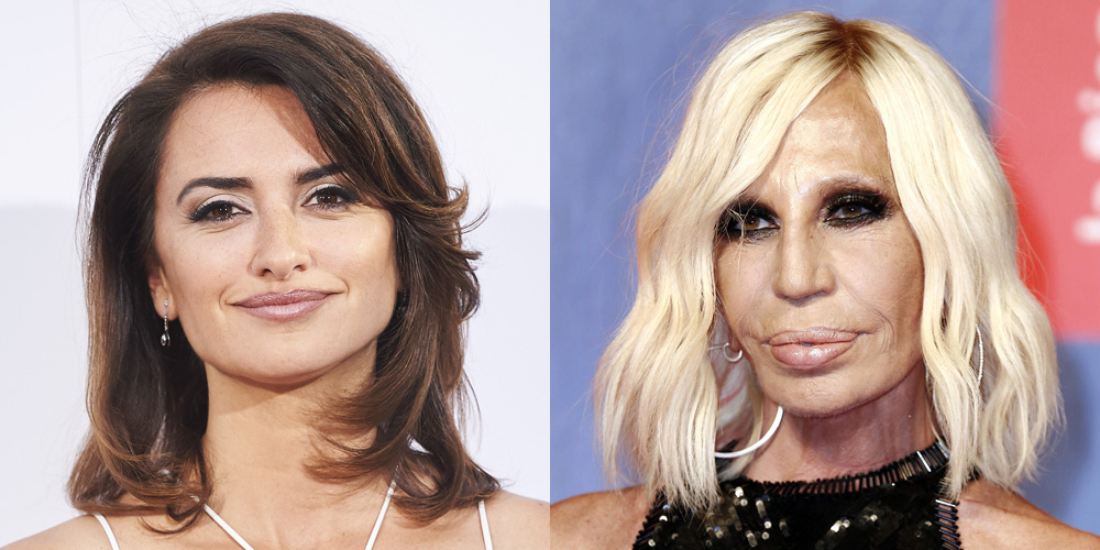 Penelope cruz as donatella versace in american crime for Donatella versace beach
