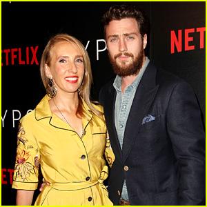 Aaron Taylor-Johnson Supports Wife Sam at 'Gypsy' Screening!