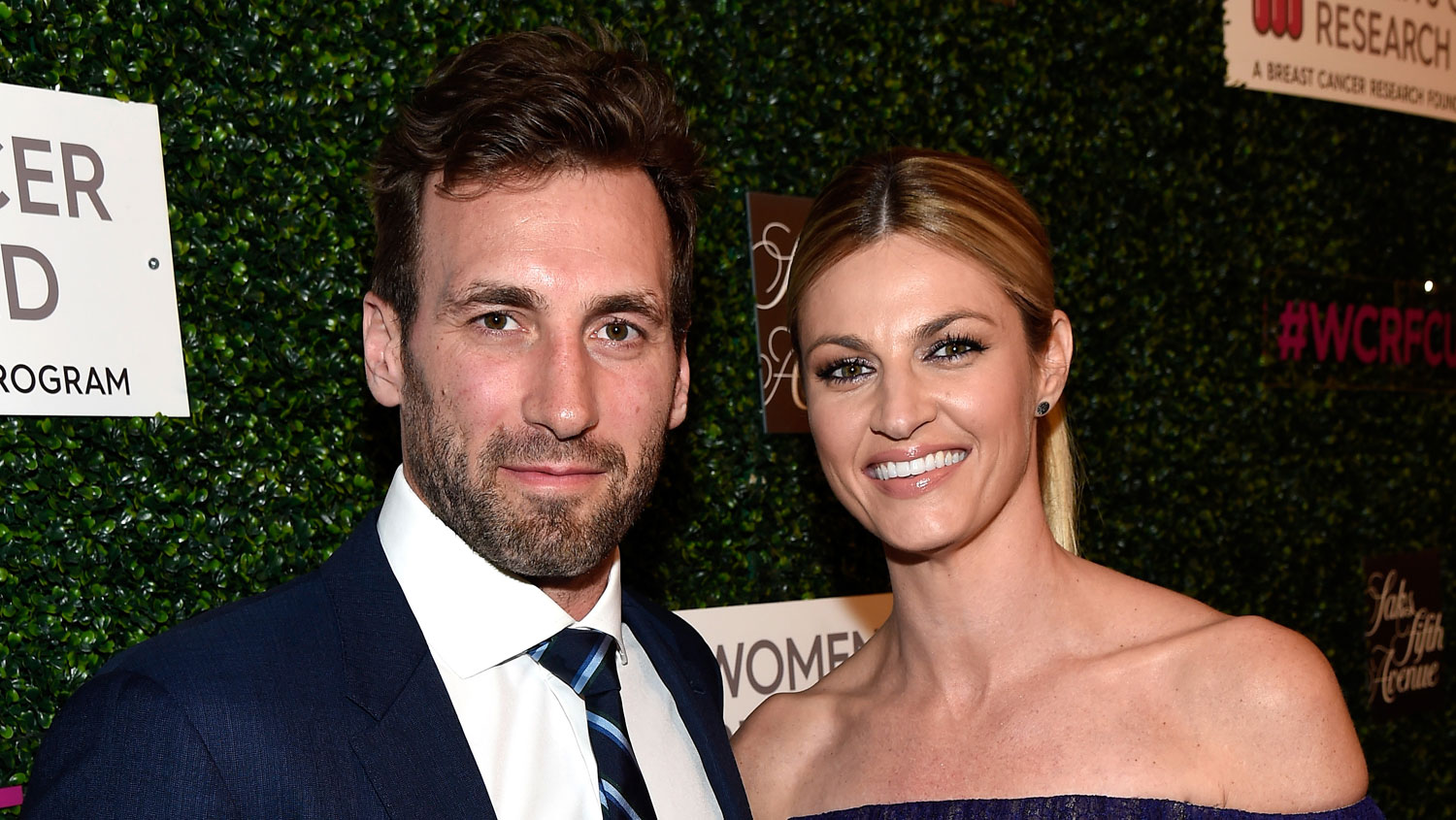 Dwts Host Erin Andrews Marries Hockey Player Jarret Stoll Erin