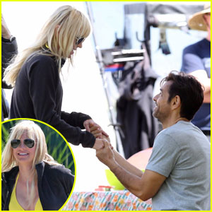 Anna Faris Gets Surprise Proposal on Set Of 'Overboard'