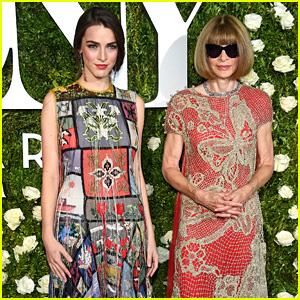 Anna Wintour Wears Sunglasses on Tony Awards Red Carpet
