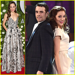 Bandstand's Laura Osnes & Corey Cott Perform at Tonys 2017!
