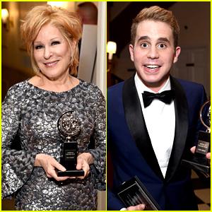 Bette Midler & Ben Platt Win Tonys for Best Actress & Actor!