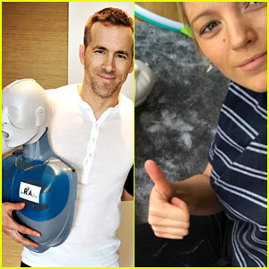 Blake Lively & Ryan Reynolds Take CPR Class, Encourage Others to Do It Too!