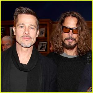 Brad Pitt Goes to Universal Studios with Chris Cornell's Kids