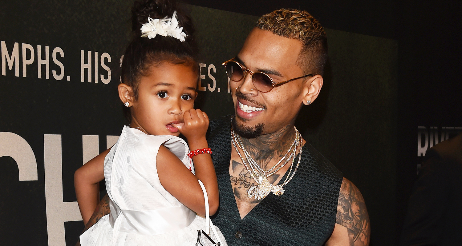 Chris Brown Brings Daughter Royalty To 'Welcome To My Life ...