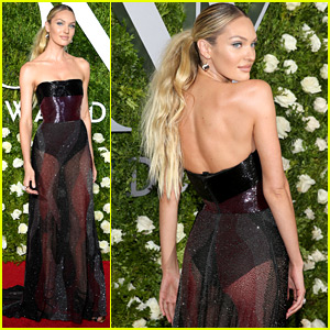 Candice Swanepoel Brings Prabal Gurung to the Tony Awards as Her Date!
