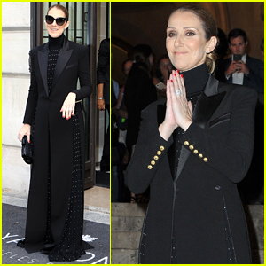 Celine Dion Enjoys a Night at the Opera in Paris