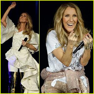 Celine Dion Kicks Off European Tour With Stunning Performance