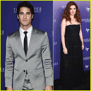 Darren Criss & Debra Messing Attend Logo's Trailblazer Awards