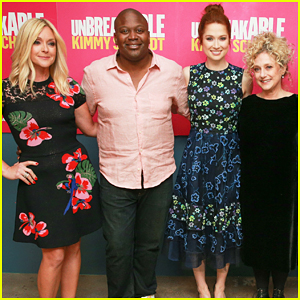 Ellie Kemper & 'Unbreakable Kimmy Schmidt' Cast Celebrate Season Four Renewal!