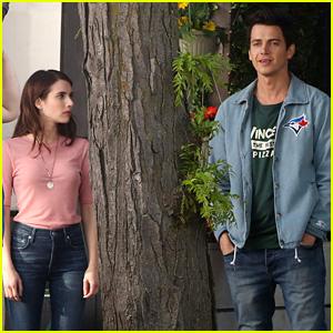 Emma Roberts Gets to Work on Movie with Hayden Christensen
