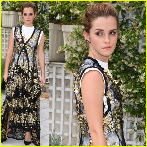 Emma Watson Looks Exquisite at 'The Circle' Paris Photo Call