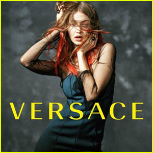 Gigi Hadid Sports Red Hair For New Versace 2017 Campaign