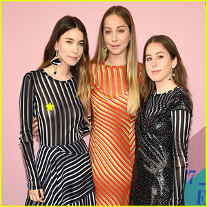 Haim Looks Tres Chic at the CFDA Awards 2017 - See the Pics!