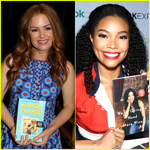 Isla Fisher & Gabrielle Union Proudly Promote Their Books